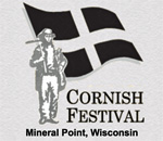 Logo of the Mineral Point Wisconsin Cornish Festival.