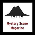 Mystery Scene Magazine black and white logo.