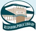 Logo of the Reedsburg Wisconsin Public Library.