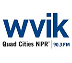 WVIK Quad Cities NPR logo.
