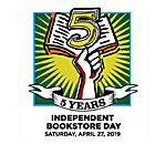 2019 Independent Bookstore Day logo.