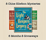 The Light Keeper's Legacy Giveaway graphic March 2018.