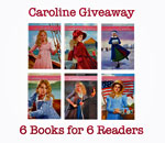 Caroline 6 Books for 6 Readers Giveaway graphic by Scott Meeker.
