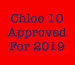 Chloe Ellefson mystery #10 approved for 2019 publication graphic.