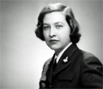 Ensign Martha Cantwell, US Navy WAVE, 1944-1946.