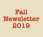 Fall 2019 Newsletter graphic by Mr Ernst