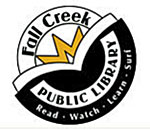Logo of the Fall Creek Wisconsin Public Library.