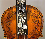 Hardanger Fiddle hand crafted by Karen Rebholz.