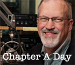 Image of Jim Fleming of the Chapter A Day program on Wisconsin Public Radio