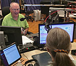 Kathleen Ernst being interviewed on The Larry Meiller Show on the Wisconsin Public Radio 05 September 2019