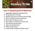 Mystery To Me Top 10 Bestselling 2018 Mysteries.