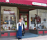 Photo of the Nordic Nook store in Stoughton Wisconsin