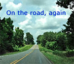 On the road, again graphic by Scott Meeker.