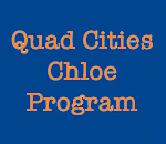 Quad Cities Chloe Ellefson Mysteries Program graphic.