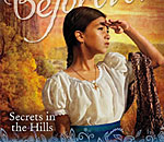 Partial front cover of rebranded American Girl Josefina mystery Secrets in the Hills by Kathleen Ernst.