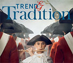 Front cover of Trend & Tradition, Summer 2017 issue of the official magazine of Colonial Williamsburg, Virginia.