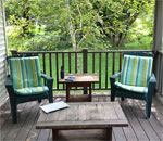 Writing retreat space of bestselling author Kathleen Ernst.