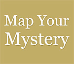 Map Your Mystery Blog logo.
