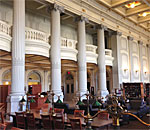 State Historical Society of Wisconsin interior view.