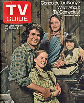 Landon Little House TV Guide Cover