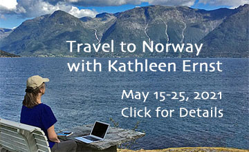 Travel to Norway with Kathleen Ernst